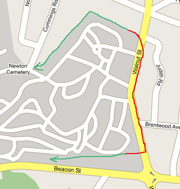 Eruv Maps and Boundaries Map Of Newton M on